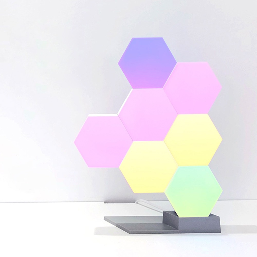 6-10W LED Quantum Lamp Hexagonal Lamps Modular Lighting Geometric Night Light