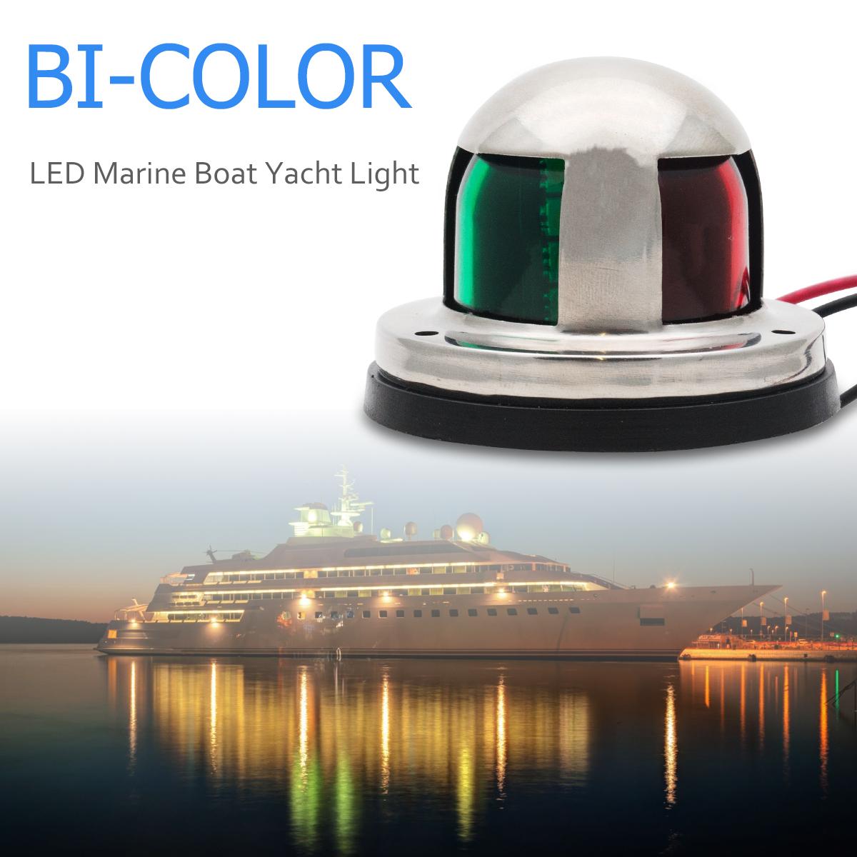 360° Boot Marine Weiß Licht Beleuchtung Anker Navigationsleuchte Rennboot Yacht