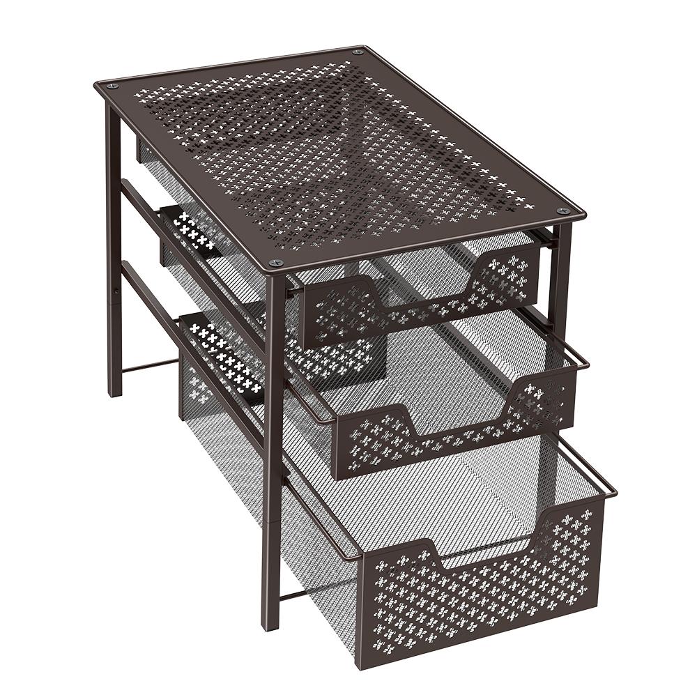 Details about NEX 3-tier Drawer rack Countertop Storage Organizer Spic rack  Kitchen,Bathroom