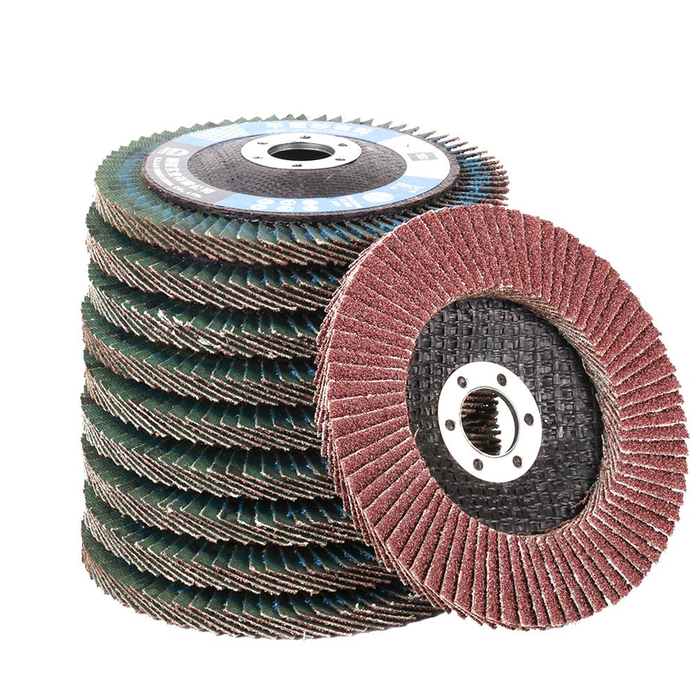 "25-60mm Flap Sanding Grinding Wheel Disc Polishing Grinder 1//4/""Shank Rotary Tool"