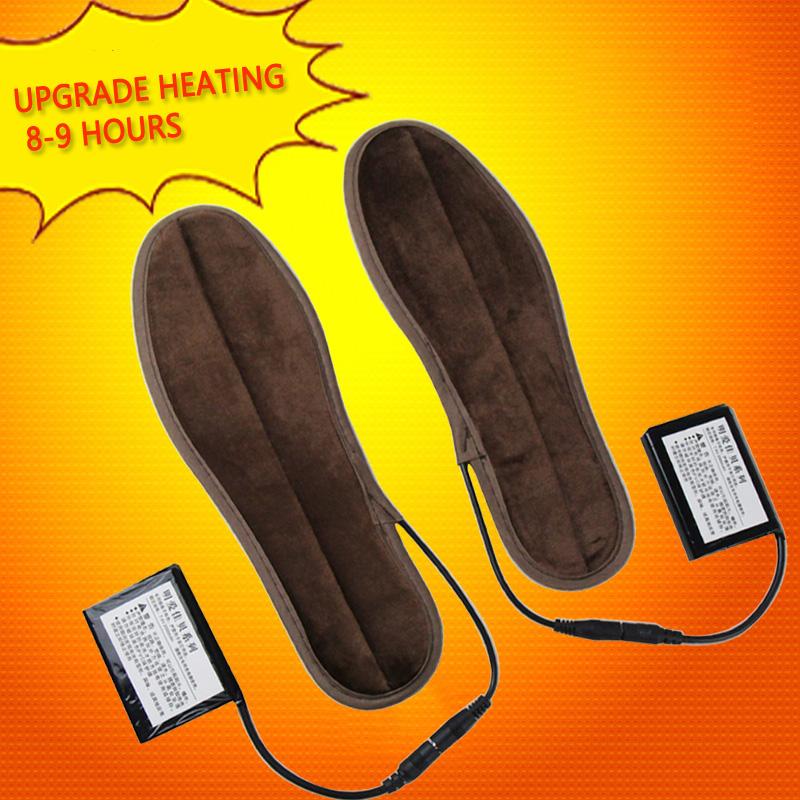 Elektrisch Beheizte Beheizbare Schuheinlagen Universalgröße 41 42