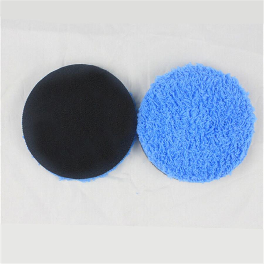 "Remove Paint Car Care 7.5/"" Blue Microfiber Cutting Buffing Sponge Polishing Pad"