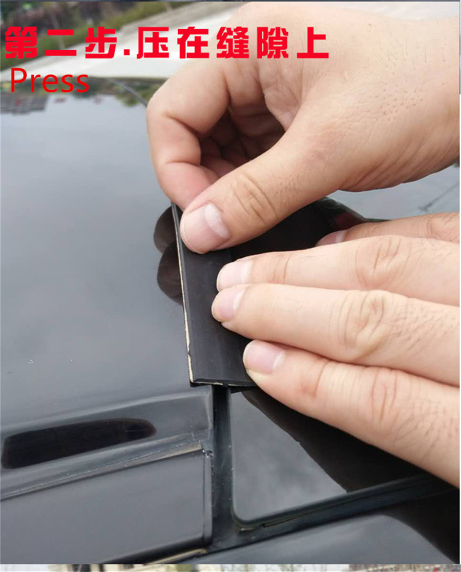 354 Quot Flexible Car Roof Gutter Seal Window Sunroof Cover
