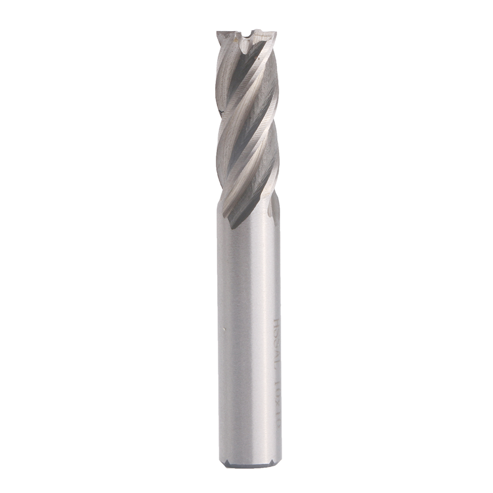 10mm HSS CNC Straight Shank 4Flute End Mill Milling Cutter Metal Wood Drill Bit