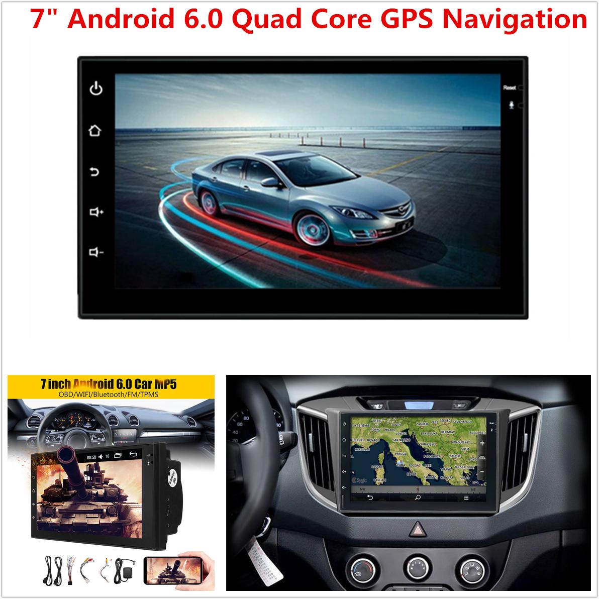9/'/' Quad-Core RAM 2GB ROM 32GB Car GPS Nav Android 9.1 Wifi For Santa Fe 2005-12