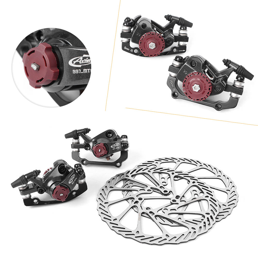 Avid Mtb Bb7 Mechanical Disc Brake Front And Rear 160mm W G3 Rotor 160 Mm G3cs Bike Brakes Set Calipers With Rotors