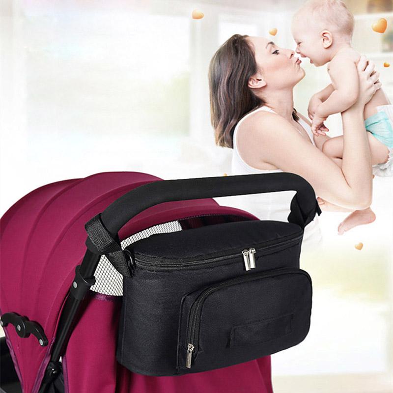 Baby Organizer Mumienbeutel Aufbewahrung Buggy Kinderwagen Flaschenhalter n