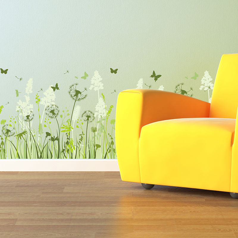Dandelion Vinyl Wall Art Stickers Room Decals Home Decor Wall ...