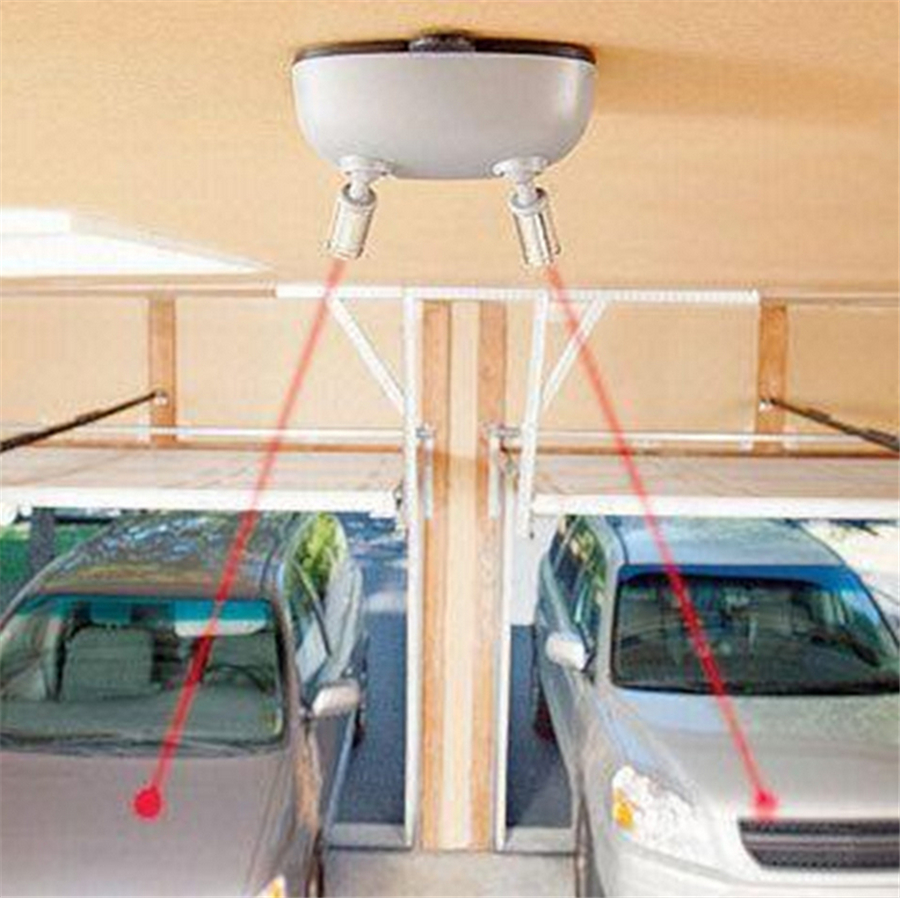 Double Laser Garage Parking Assistant Guide Stop Light