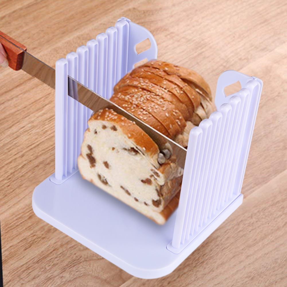 Bread Cutter Loaf Toast Slicer Cutting Slicing Guide Kitchen Tool.//