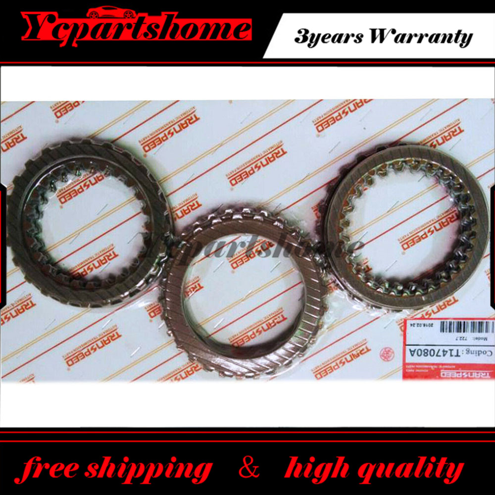 722.7 Auto Transmission Clutch Friction Kit For MERCEDES Transpeed T147080A