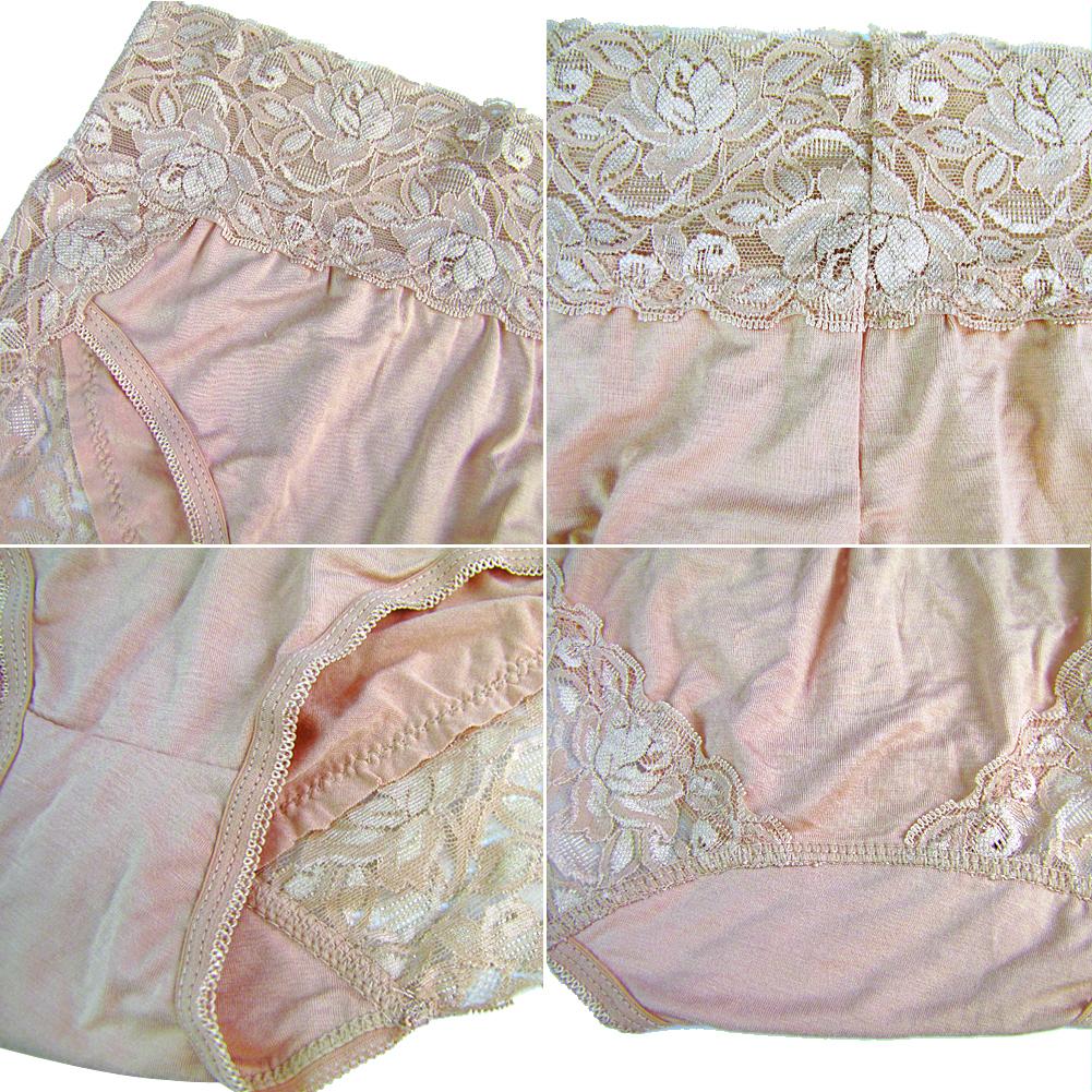 3ca37cde8e3da Détails sur Femmes Dentelle Culotte Floral Slips Sous-vêtements Grande  taille Lingerie Sexy
