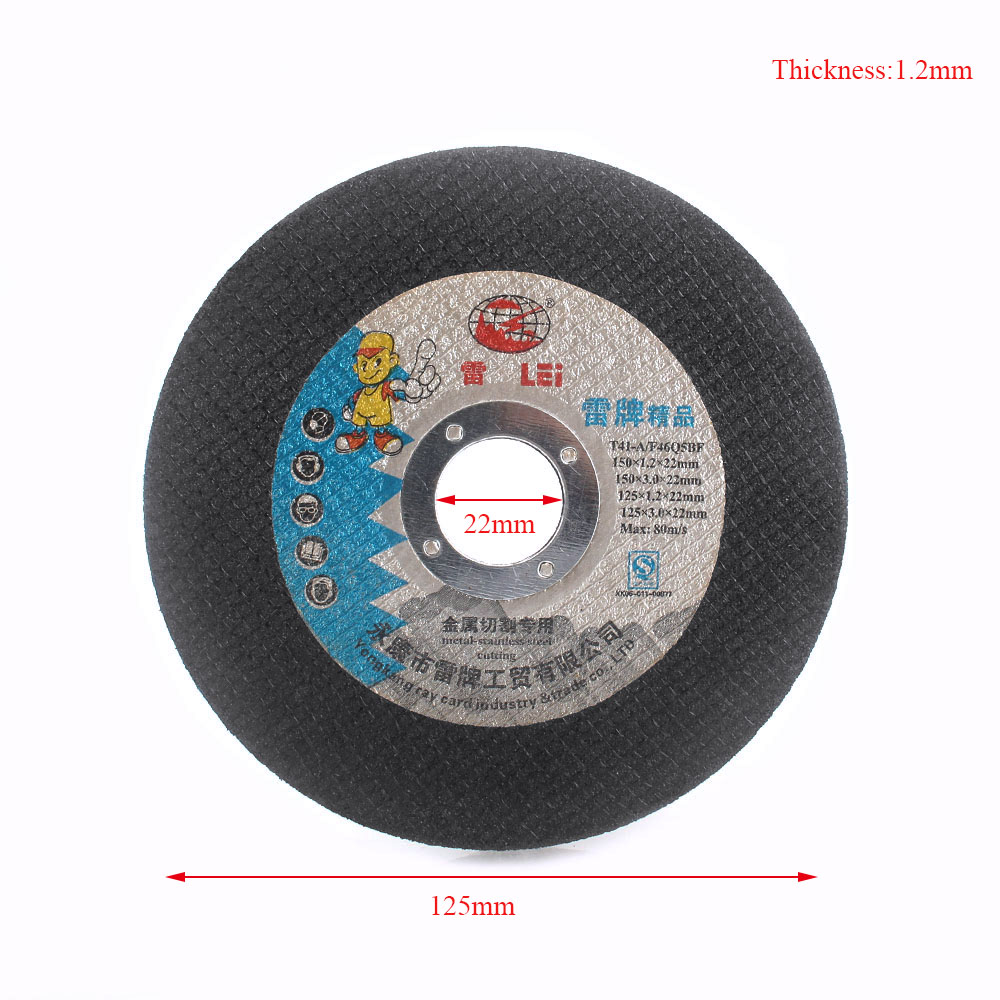 """3Pcs 5/"""" 125mm Resin Cutting Wheel Grinding Disc Metal Angle Grinder Rotary Tool"""