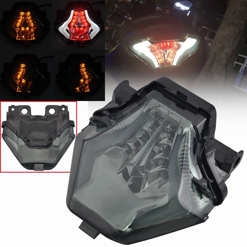 Taillight Turn Signal Integrated Led Light for YAMAHA YZFR6 Motorcycle 2006-07