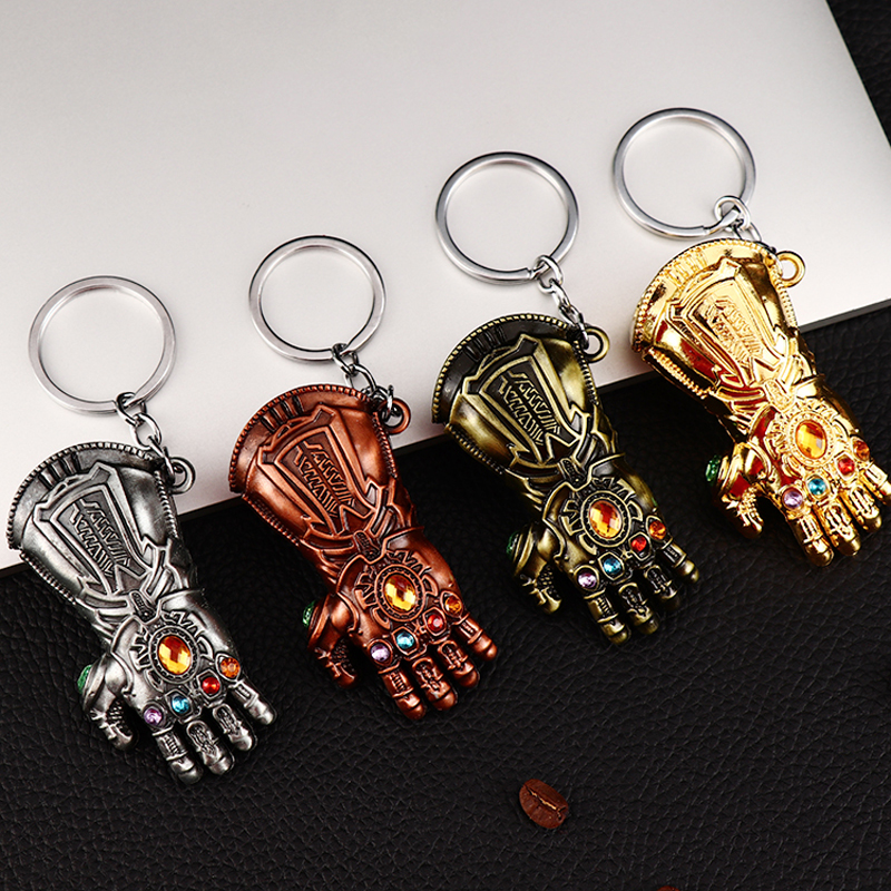 Llaveros Guantelete del Infinito Thanos Avengers Infinity gauntlet Keychain