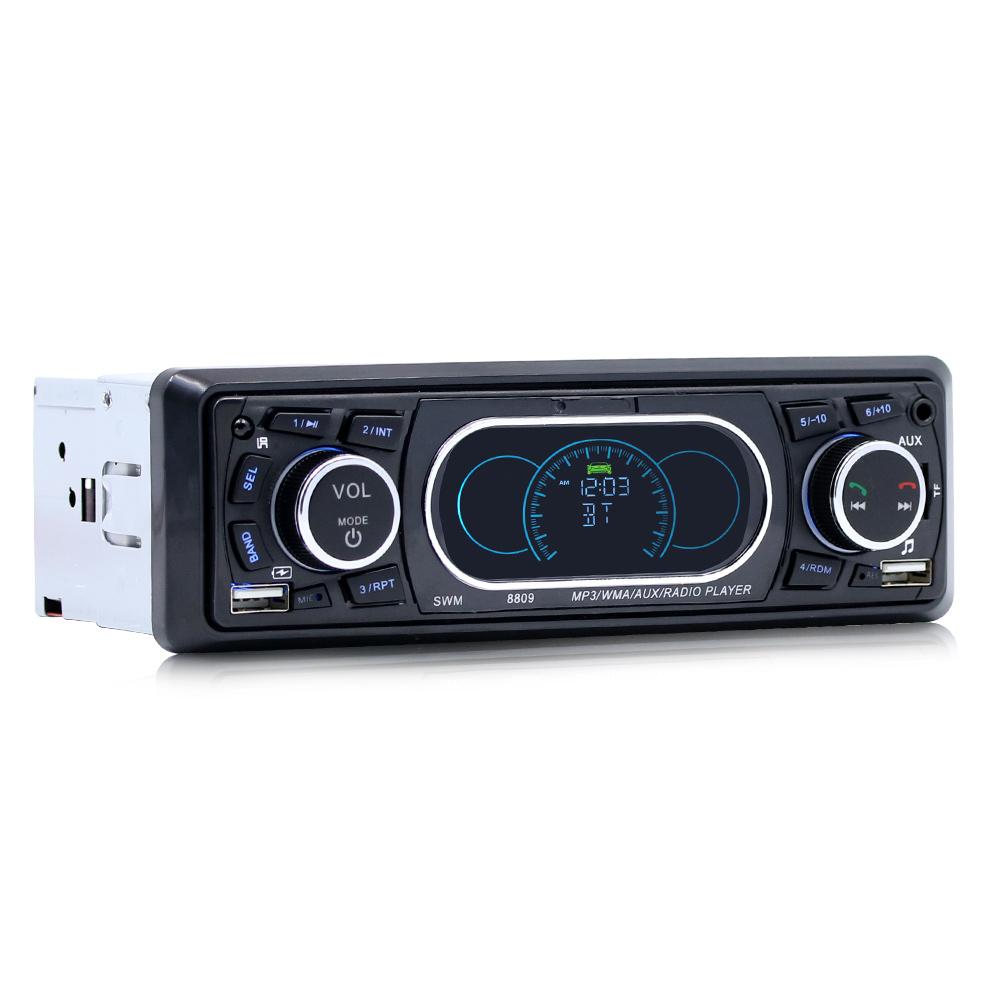 1 Din Car Mp3 Player Stereo Audio Fm Radio Aux U Disk Box Modul Mp5 Plus Aksesories Playremote Control