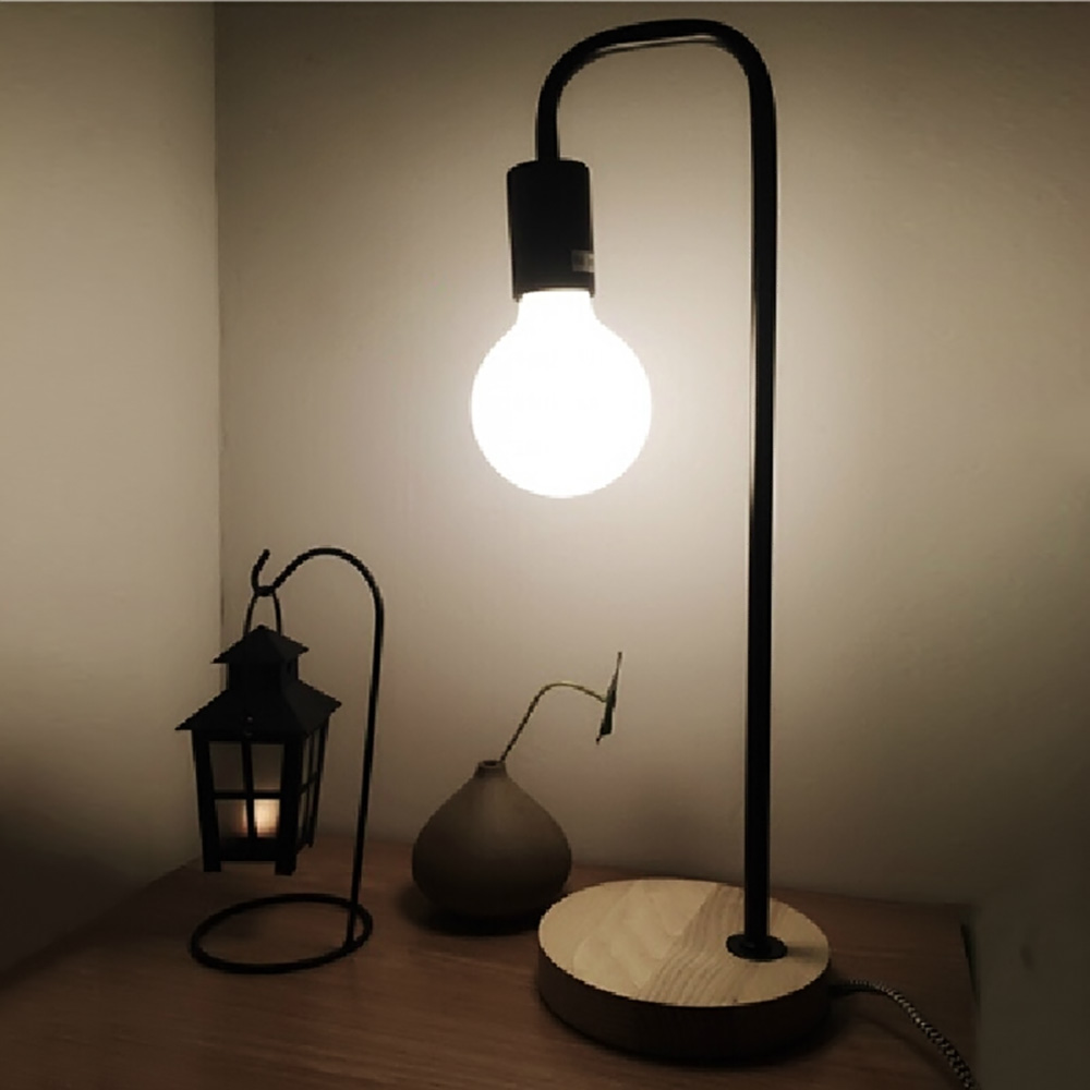 Details About Modern Loft Led Desk Lamp Table Light Work Reading For Home Office Studio Study