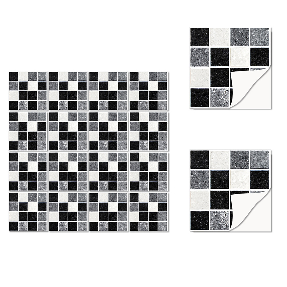 Home Furniture Diy 10pcs Kitchen Tile Stickers Bathroom Mosaic Sticker Selfadhesive Home Decor Uk Fabrizia Com Au