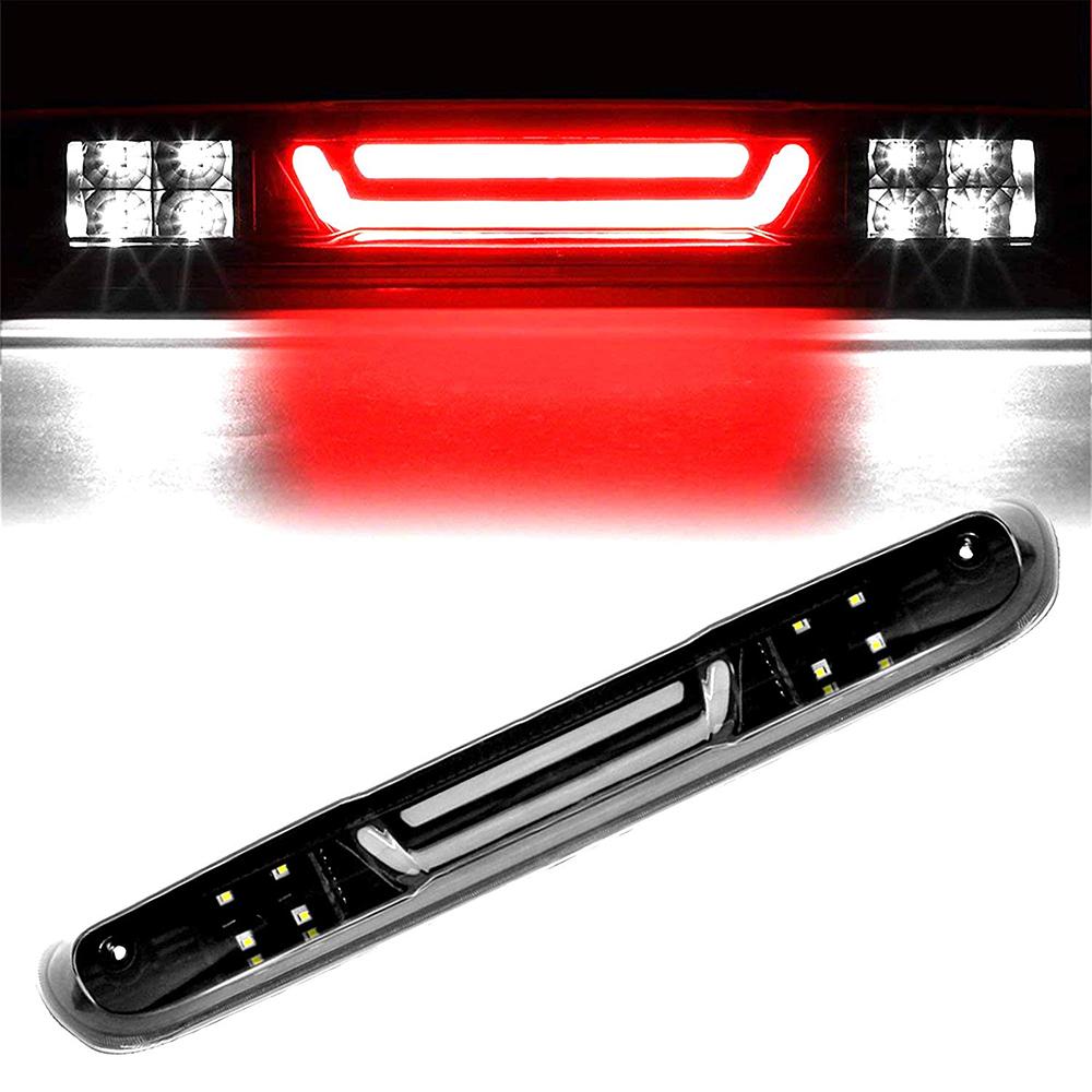 For 07-13 Chevy Silverado 1500//2500//3500 GMC Sierra LED Third Brake Light Red