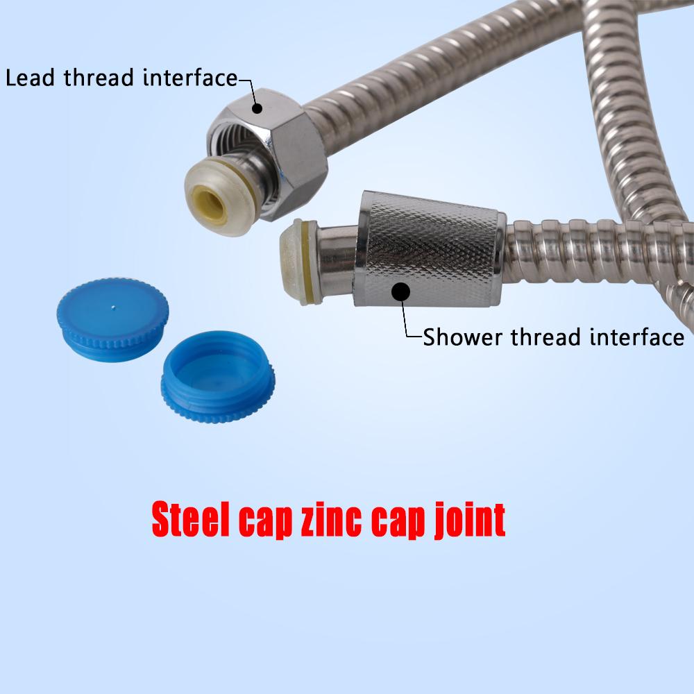"59/"" 150cm Stainless Steel Shower Hose Polishing Electroplating for Bathroom Tool"