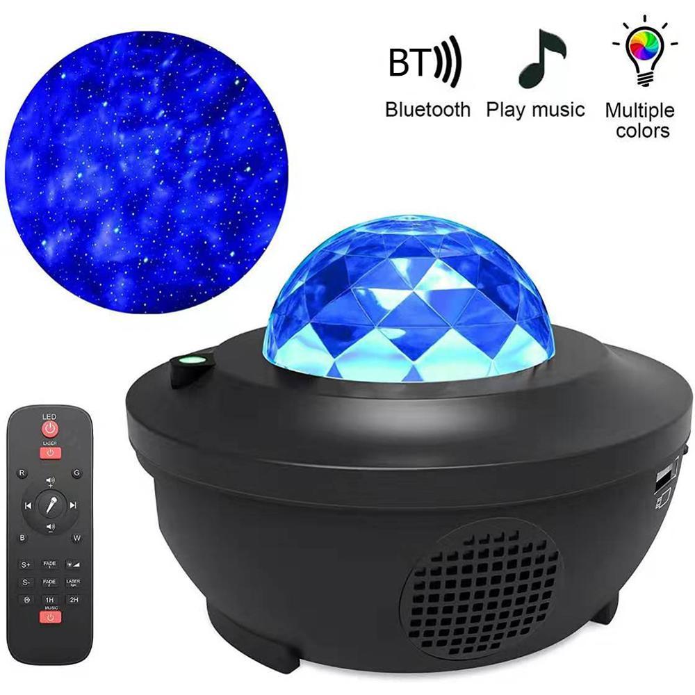LED Starry Night Sky Galaxy Projector Lamp Star Sky Cosmos Night Light Remote UK