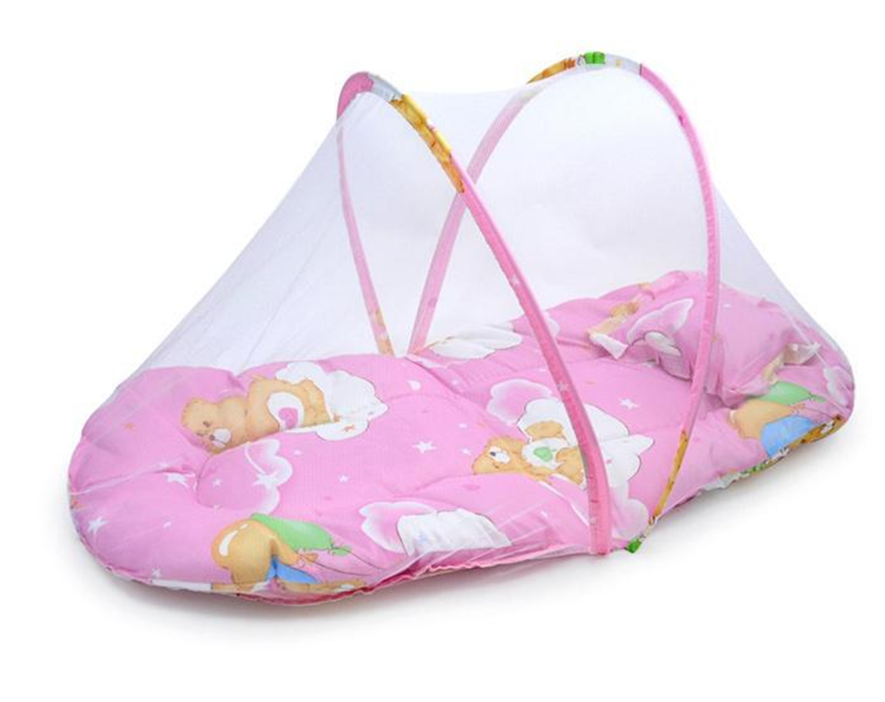 Ordinaire Protect From Mosquito, Flies, Insects And Other Annoying, Giving Your Baby  A Sound Sleep. Finely Woven Netu0026 Chemical Free. Soft U0026 Comfortable Cushion