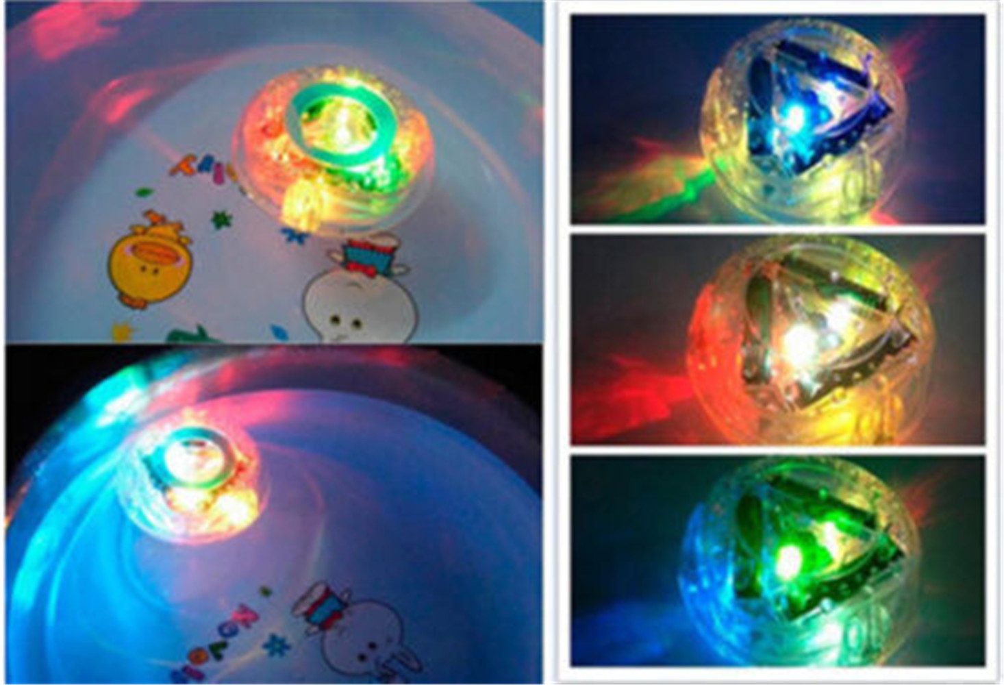 2X Kid Bath Light Time Fun LED Light Up Toy Party in The Tub ...