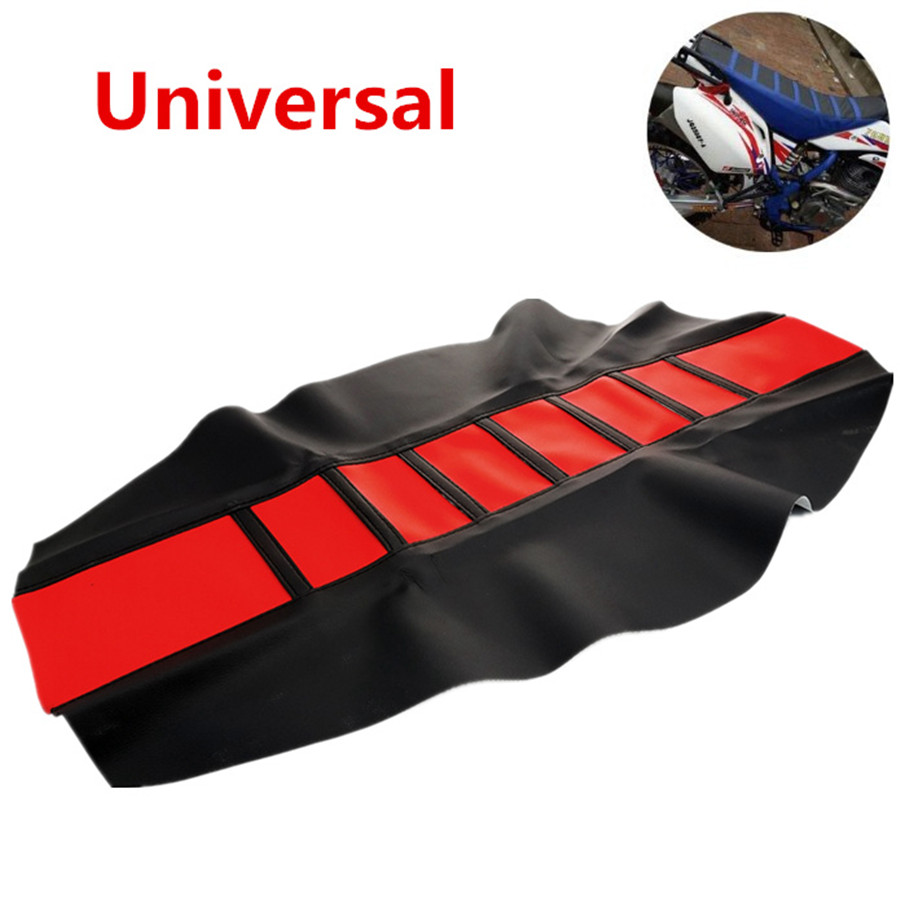 Cool Details About Universal Leather Gripper Soft Motorcycle Rib Skin Rubber Dirt Bike Seat Cover Ibusinesslaw Wood Chair Design Ideas Ibusinesslaworg