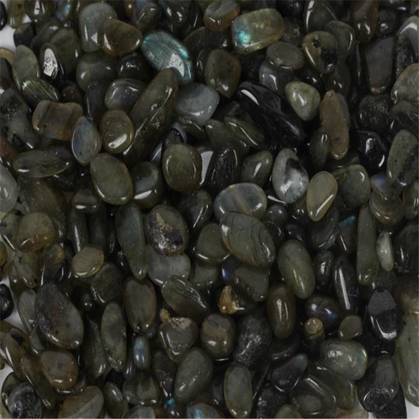 Grey Moonstone Ore Crushed Gravel Stone Chunk Lots Degaussing worn DIY Chakas