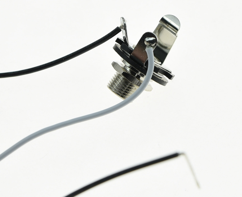 prewired wiring harness alpha 500k mini pots 1v1t 1 socket