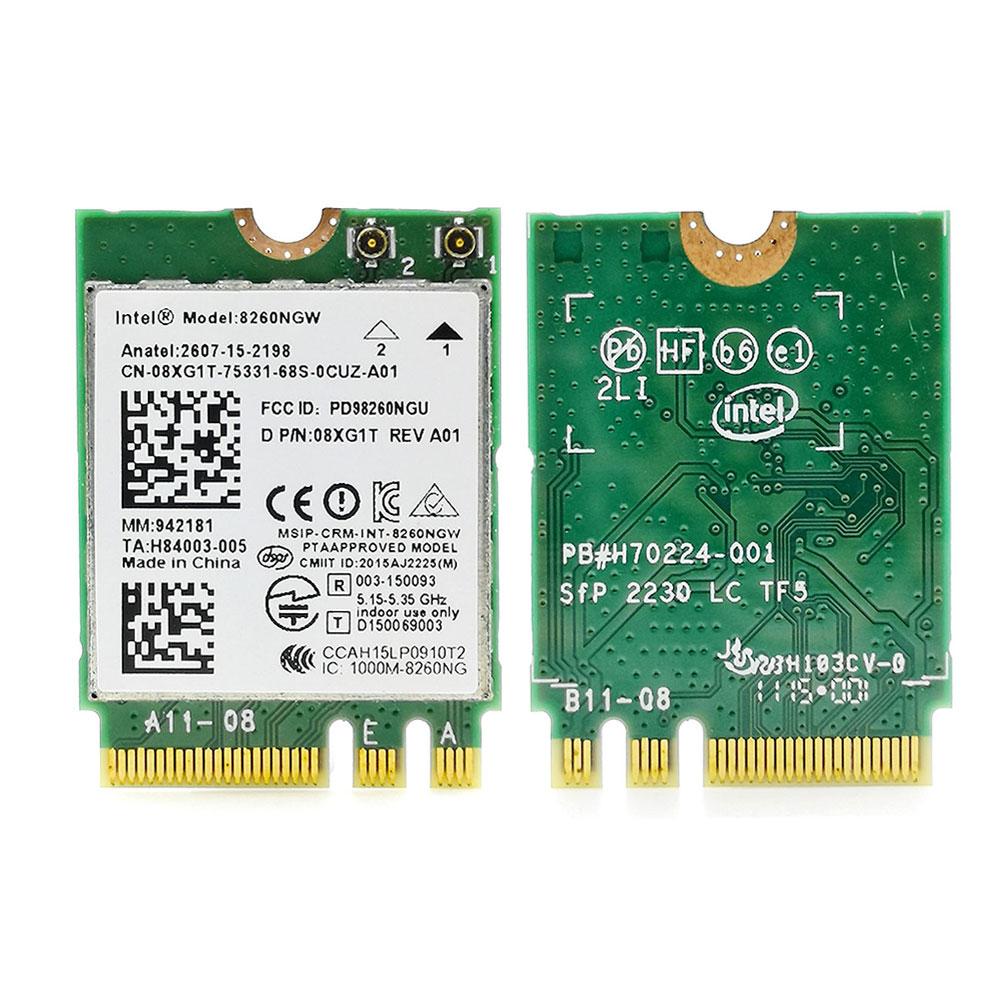IBM Lenovo Intel Dual Band 8260NGW Wireless-AC 867Mbps Bluetooth 4.2 NGFF Card