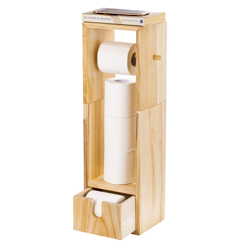 Bathroom Toilet Tissue Paper Roll Holder Stand Toilet Paper Holder Dispenser Ebay