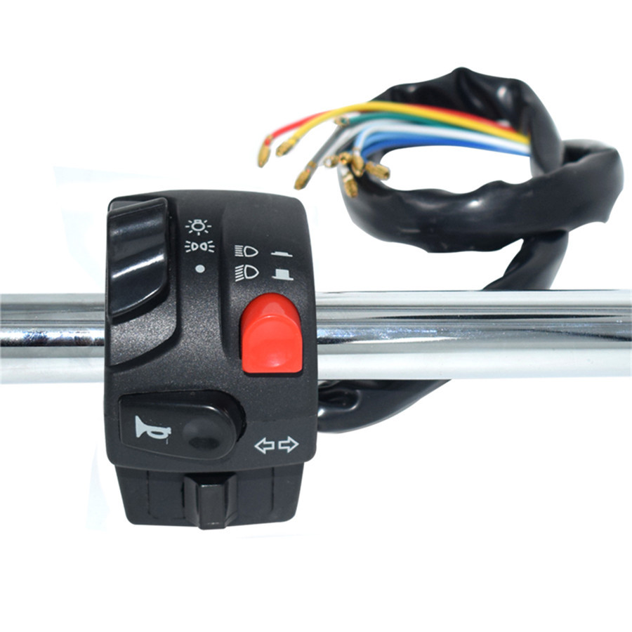 22mm motorrad lenker schalter set hupe blinker z nd. Black Bedroom Furniture Sets. Home Design Ideas