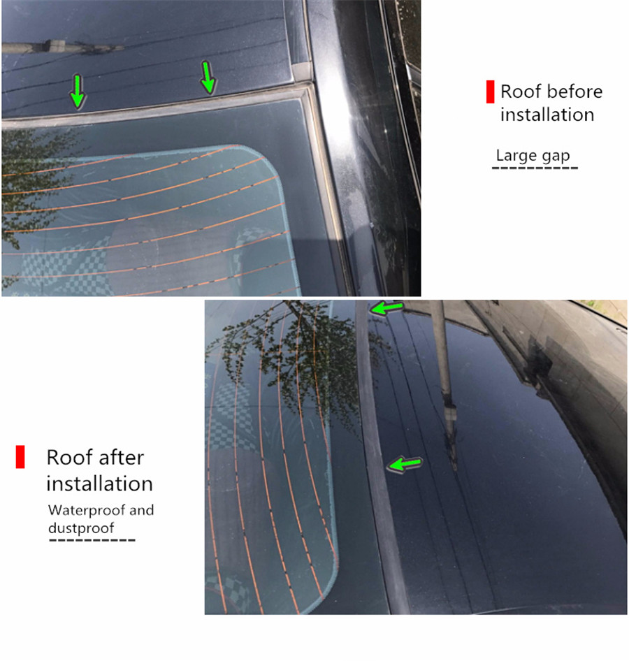 New 3m Rubber Moulding Car Roof Edge Windscreen Sunroof
