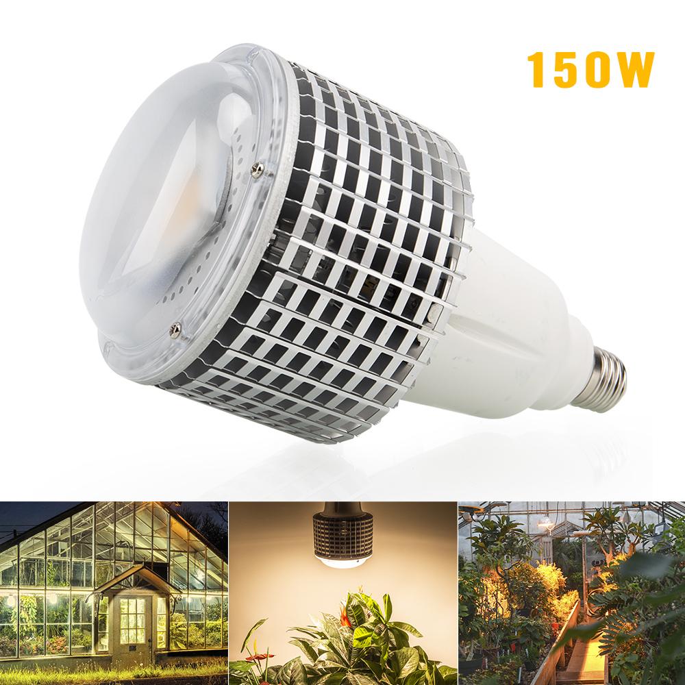 Details About E27 150w Cob Warm White Led Grow Bulb For Flowering Lighting Garden Plants Lamp