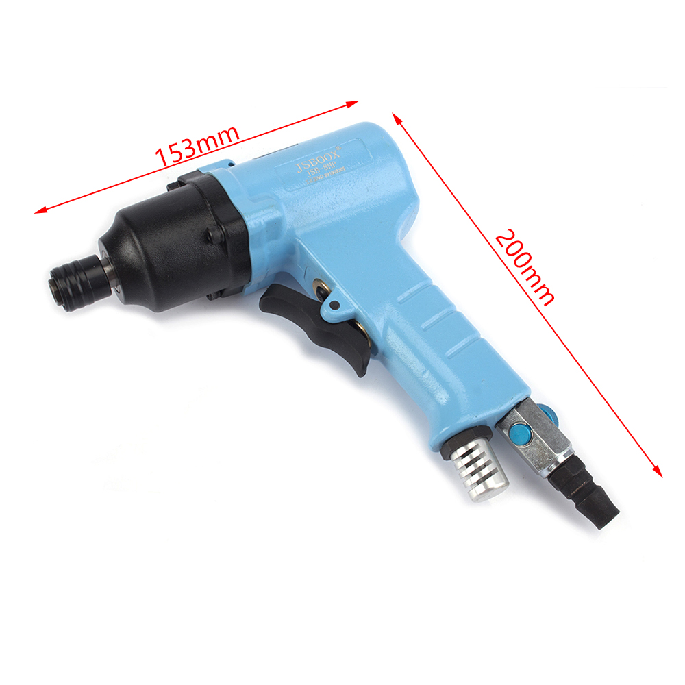 8H Hand-held Air Batch Powerful Pneumatic Screwdriver Industrial Woodworking Repair Tools