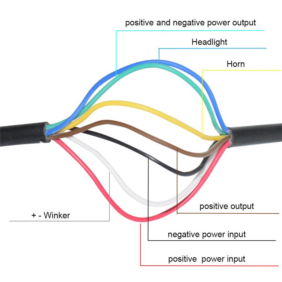 Universal 7 822mm Motorbike Handlebar Multifunction Switch Horn Fog Honda St1100 Wiring Diagram Product Description