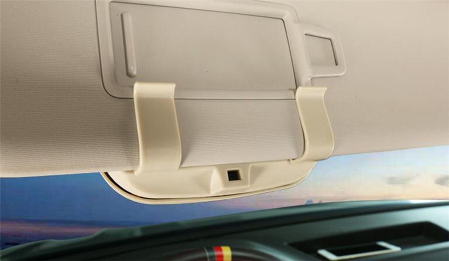 Sunglasses Box Sun Glasses Case Car Sun Shade Sunshade Window Visor Holder Clip