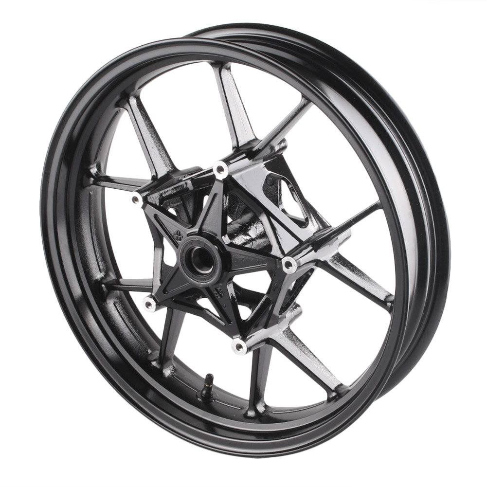 Black GZYF 1Pc Motorcycle Front Wheel Rim for BMW 2009-2015 S1000RR /& 2014 2015 S1000R