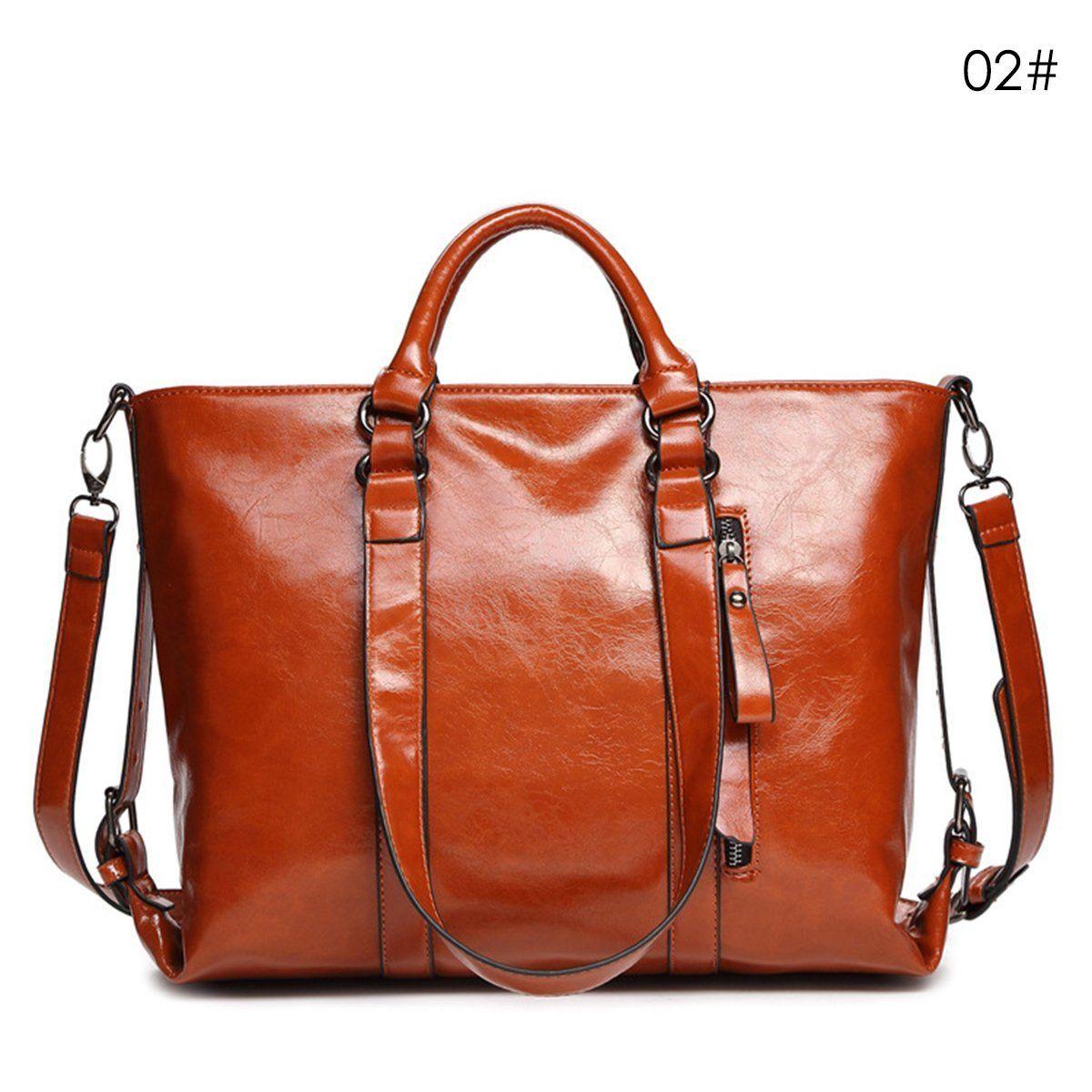 f61b160216 Details about Women Leather Shoulder Bag Handbag Messenger Hobo Satchel  Tote Crossbody Bag New