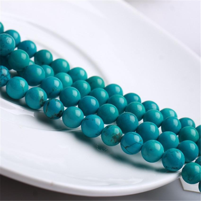 8MM Orange Rainbow Turkey Turquoise Gemstone Round Loose Beads 15/'/' Strand