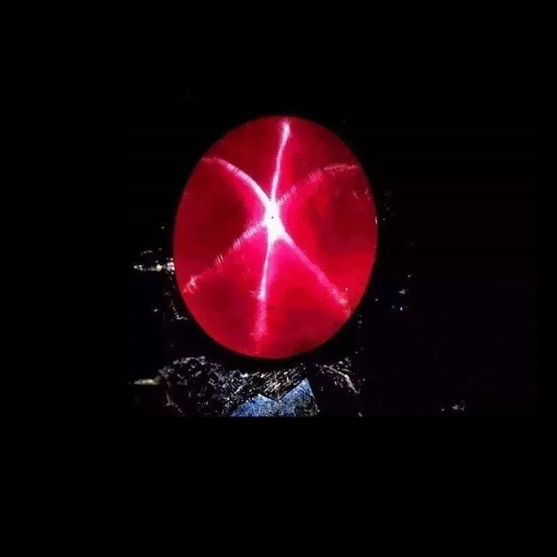 13.89CT 12*16mm Red Ruby Unheated Oval Cut VVS Loose Gems Zircon Gemstone Décor