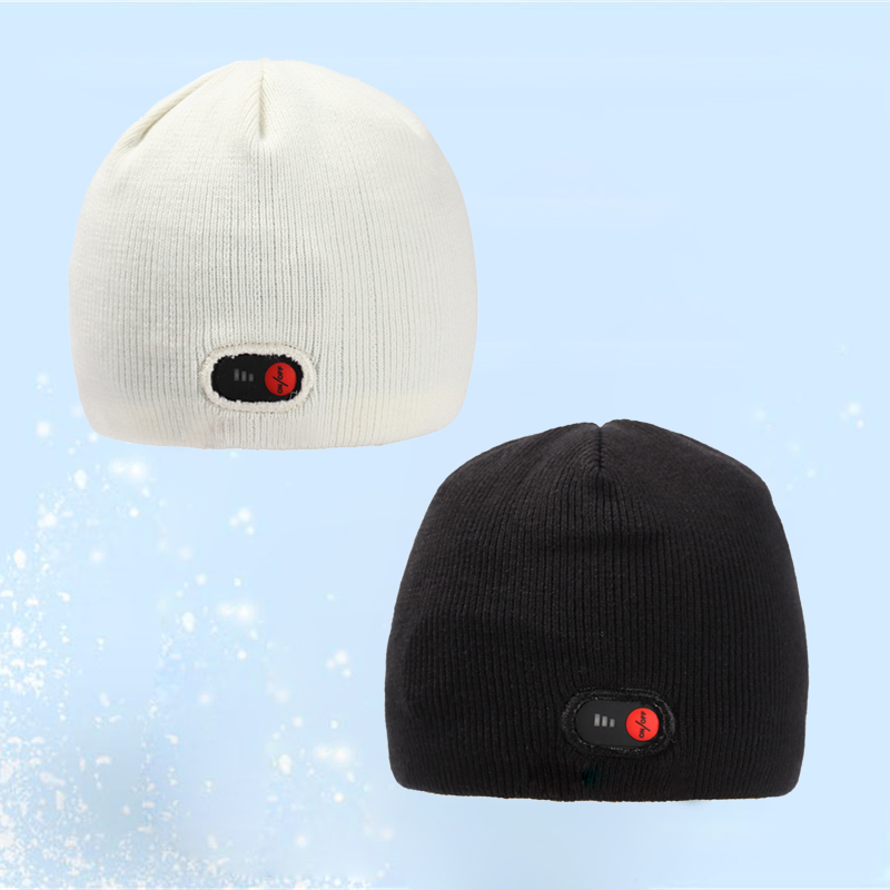 Details about Winter Electric Heated Hats Thermal KnittedWarm Hat Ski Cap  Outdoor F Men Women 6d85f6742f3