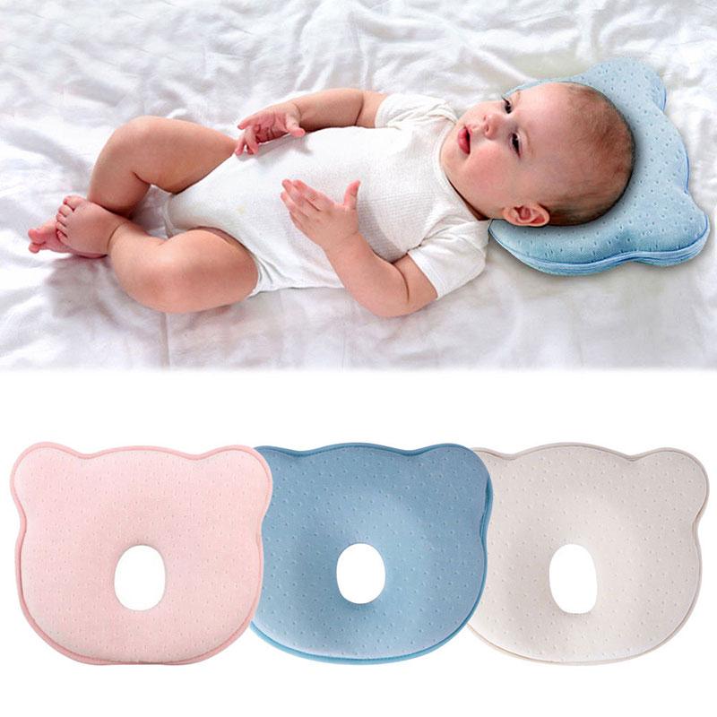 Orthopädisches Babykissen Kissen gegen Verformung Plattkopf Baby Soft Pillow DE