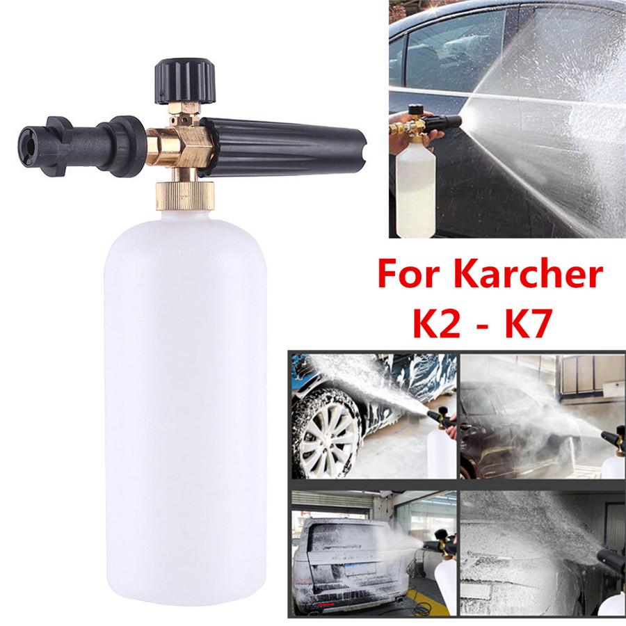 Car Foam Gun >> Details About High Quality Durable New Car Foam Gun Lance Cannon Pressure Washer