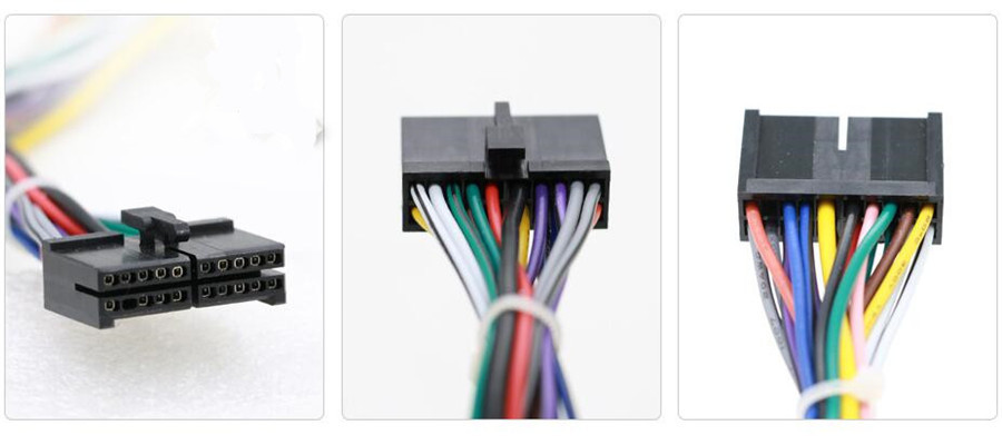 wiring harness connector pins car stereo 20 pin android power wiring harness connector adapter  power wiring harness connector adapter