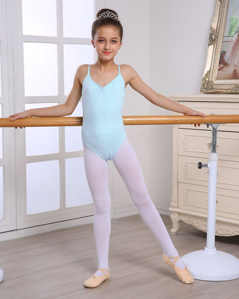17605f24942c Seamless Stretchy Girl s Ballet Leotard Dress Multicolor Perfect ...