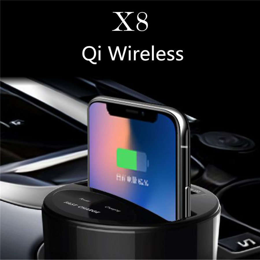 qi induktive auto ladestation wireless charger halterung