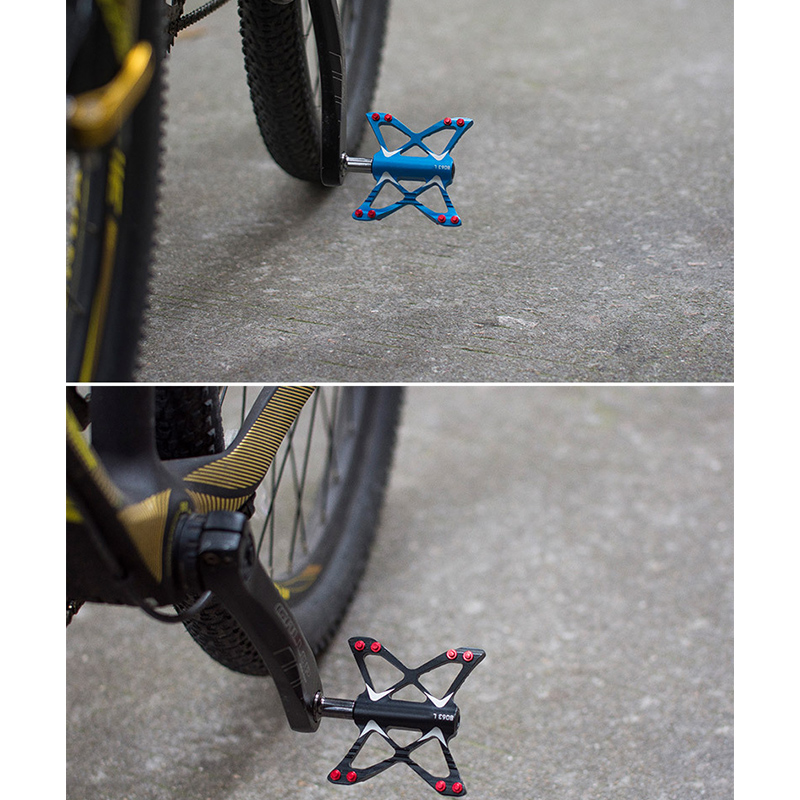 butterfly Aluminum MTB Mountain Road Bike 3 Bearings Pedals flat Platform Pedal