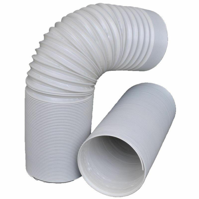 Abluftschlauch PP Flexibel Ø 130mm 2m Klimaanlage Wäschetrockner Abzugshaube TOP